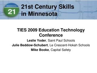 21st Century Skills  in Minnesota