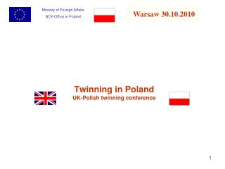 Twinning in Poland UK-Polish twinning conference
