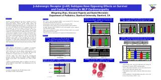 b -Adrenergic Receptor ( b -AR) Subtypes Have Opposing Effects on Survival