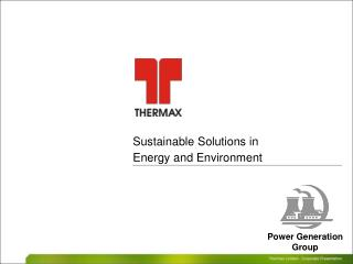 Sustainable Solutions in Energy and Environment