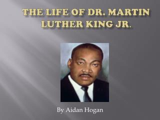an introduction to the life and history of martin luther king jr