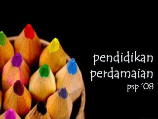 pendidikan perdamaian psp '08