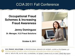 Occupational Fraud Awareness