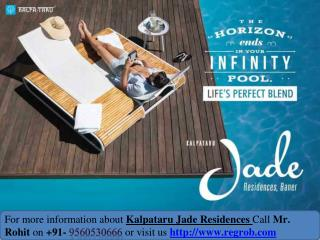 Kalpatru Jade Residences prelaunch 3 and 4 bhk flat in Baner