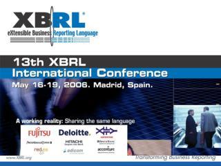 XBRL  for  regulatory  reporting in Belgium