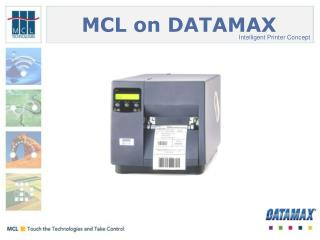 MCL on DATAMAX