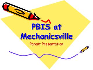 PBIS at Mechanicsville