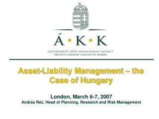 Asset-Liability Management – the Case of Hungary