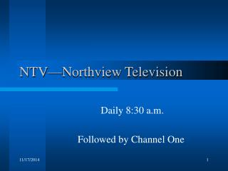NTV�Northview Television