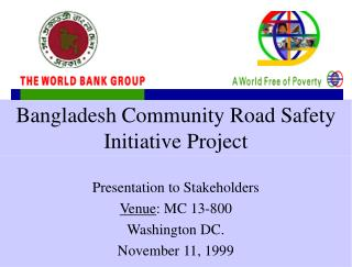 Bangladesh Community Road Safety Initiative Project