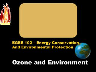 Ozone and Environment