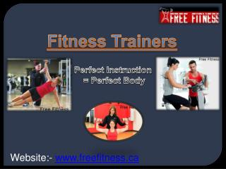 About Dietitian Fitness Coach (Trainers)