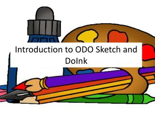 Introduction to ODO Sketch and DoInk