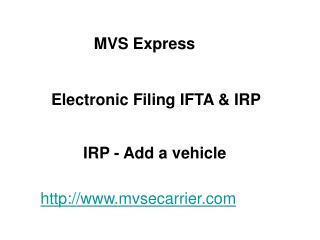 MVS Express