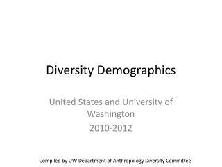 Diversity Demographics