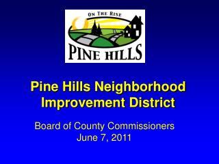 Pine Hills Neighborhood Improvement District