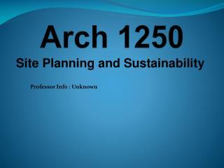 Arch 1250