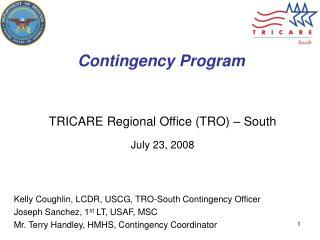 Contingency Program