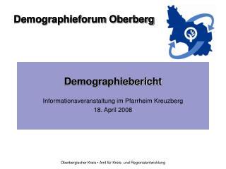Demographiebericht