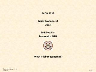 What is labor economics?