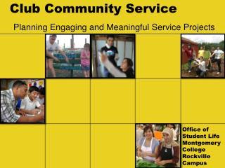 Club Community Service
