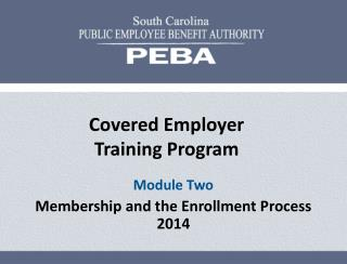 Covered Employer Training Program