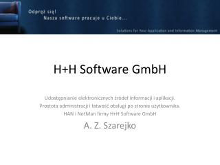 H+H Software GmbH