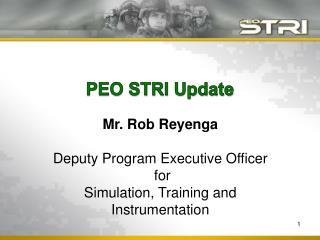 PEO STRI Update