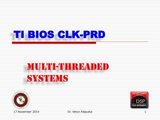 TI  BIOS CLK-PRD