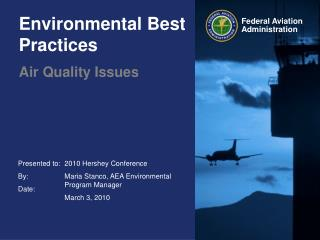 Environmental Best Practices