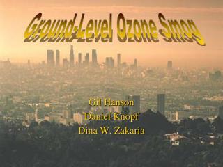 Gil Hanson Daniel Knopf Dina W.  Zakaria