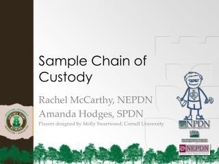 Sample Chain of Custody