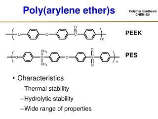 Poly(arylene ether)s