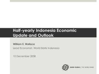 Half-yearly Indonesia Economic Update and Outlook