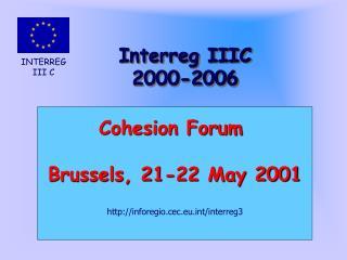 Interreg IIIC 2000-2006