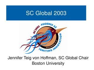 SC Global 2003