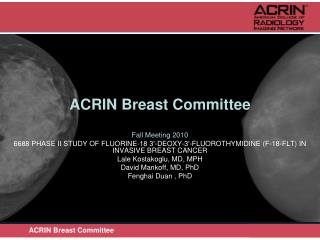 ACRIN Breast Committee