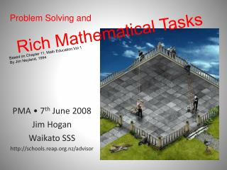 Rich Mathematical Tasks