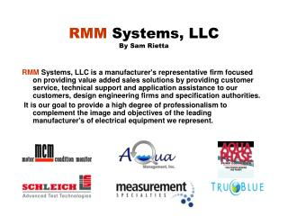 RMM  Systems, LLC By Sam Rietta