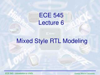 Mixed Style RTL Modeling