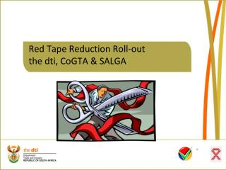 Red Tape Reduction Roll-out the dti, CoGTA & SALGA