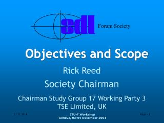 Objectives and Scope