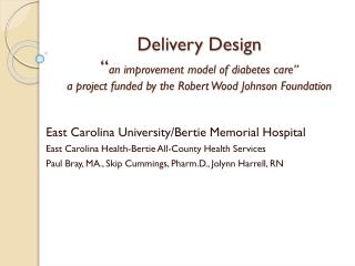 East Carolina University/Bertie Memorial Hospital