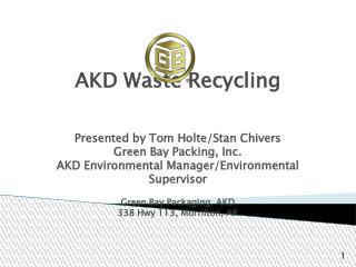 AKD Waste Recycling
