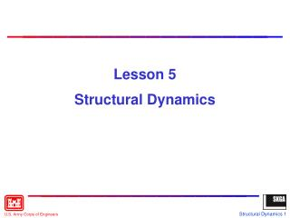 Lesson 5 Structural Dynamics