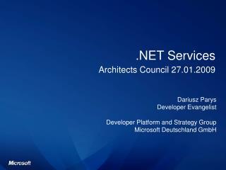 .NET Services