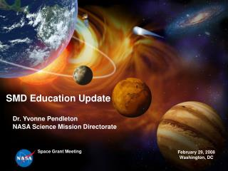 SMD Education Update