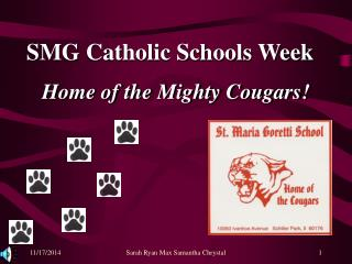 SMG Catholic Schools Week