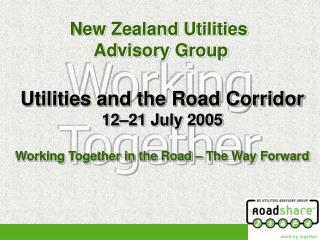 New Zealand Utilities  Advisory Group