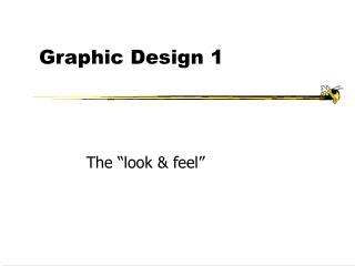 Graphic Design 1